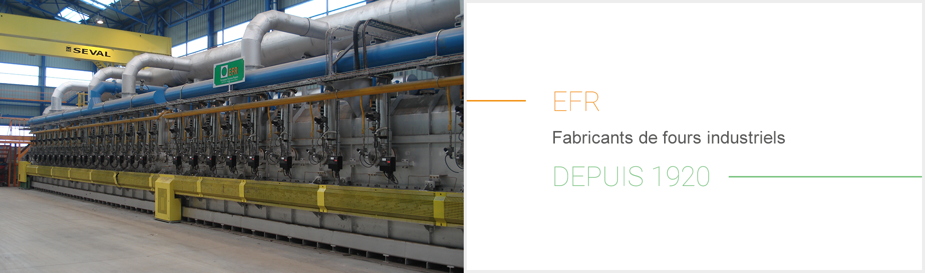 EFR Fabricants de fours industriels