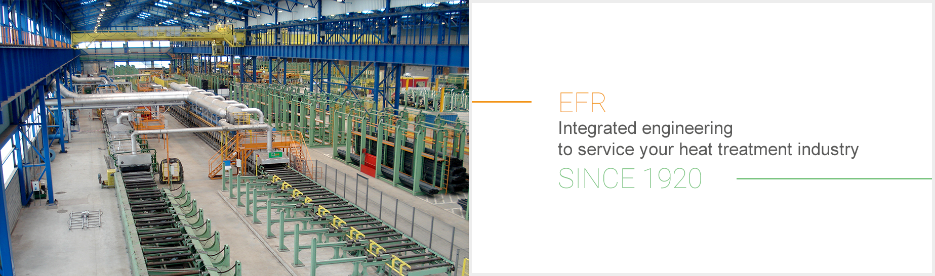 Integrated engineering to service your heat treatment industry